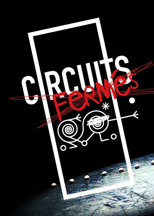 affiche circuits fermés Compagnie Defracto