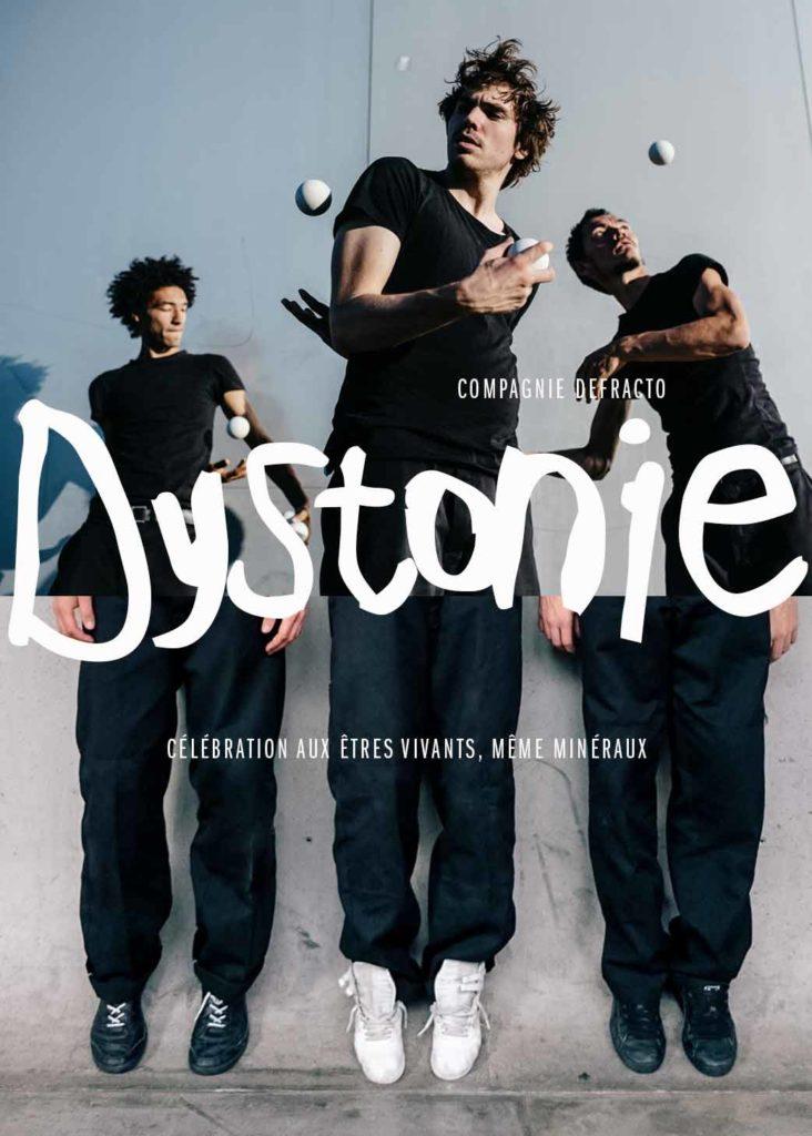 affiche dystonie compagnie Defracto